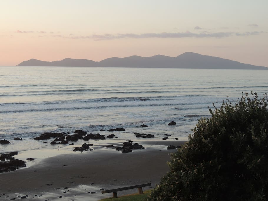 View of Kapiti Island from  Ariki View