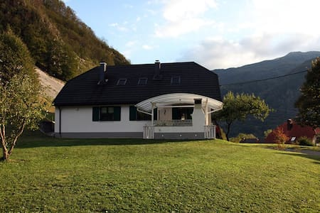 Cozy new apartment near Soča, Bovec - Log Čezsoški 12 - Casa