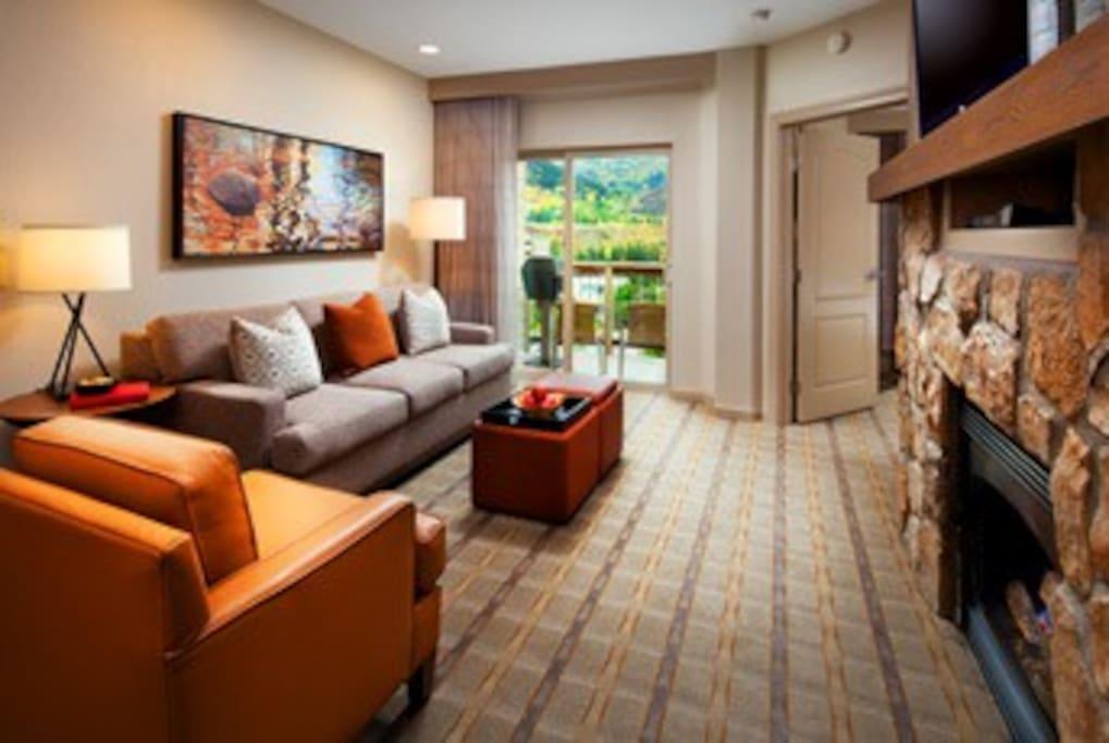 Premium Villa Living Room