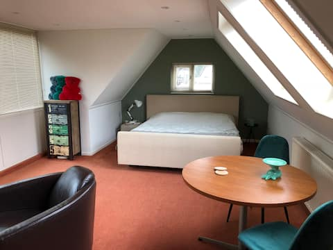 Appartement in Ter Apel (tegenover Klooster-bos)