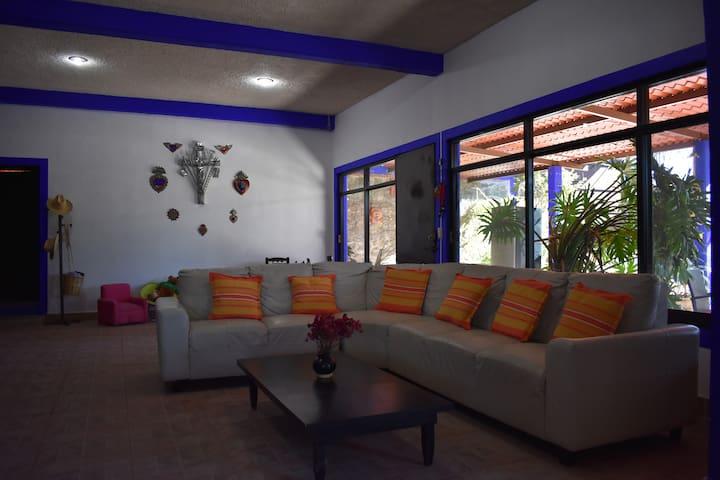 Casa de campo Guissh (Catrín) en San Juan Teitipac