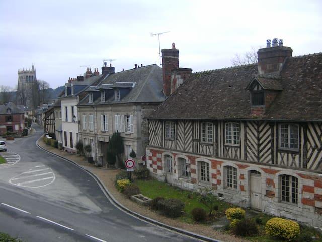 Normandie, maison pour 5 pers - Le Bec-Hellouin - Huis