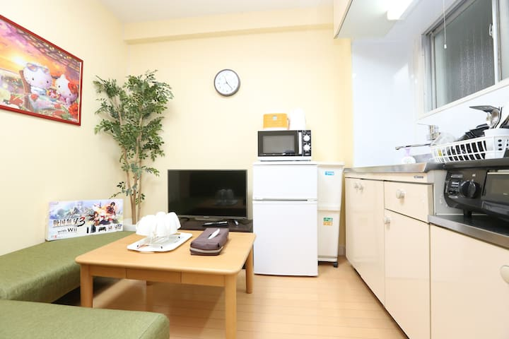 ⑤Nostalgic JPN apt w/ garden direct to Shibuya