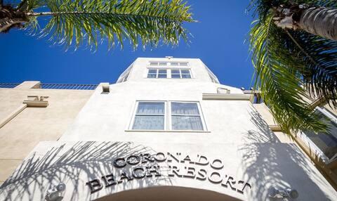 Luxury timeshare next to the Hotel Del Coronado