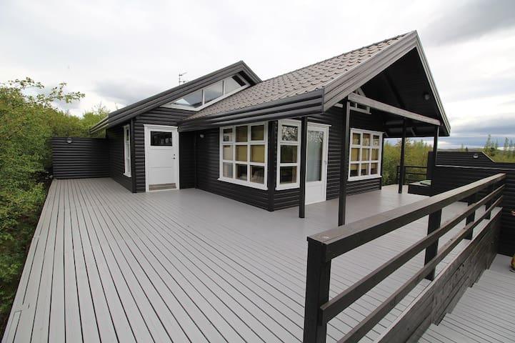 Beautiful Icelandic Cottage near Geysir