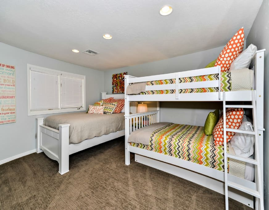 Third Bedroom with New Beds!