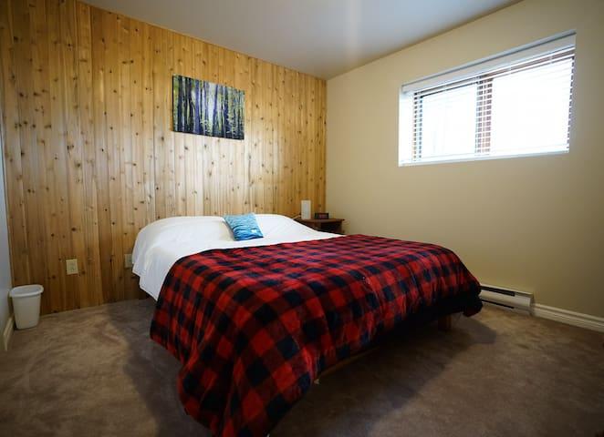Guest Bedroom, Queen bed, lower level