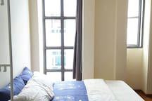 Master bedroom 3 at Tiong Bahru/ Outram Park