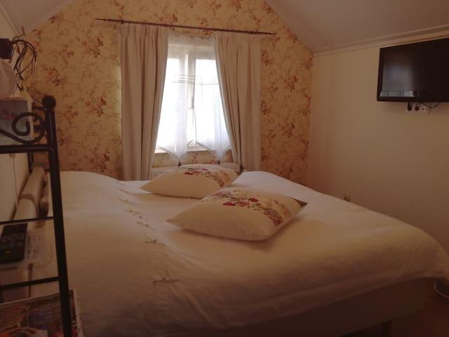 Albertine kamer met 2 persoonsbed