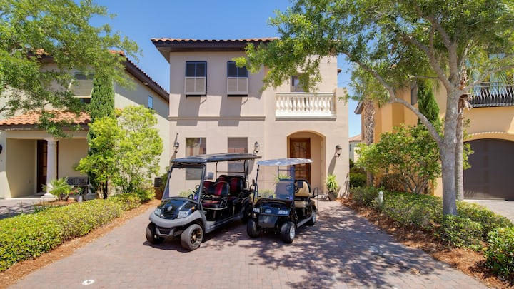 'Sandestiny' Large Home - 2 golf carts