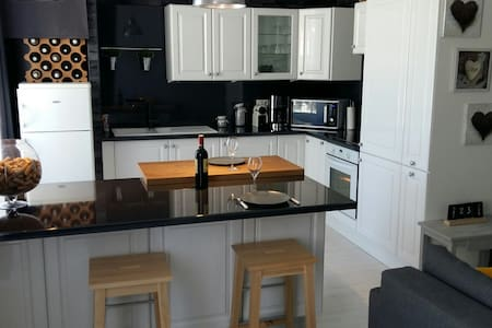 Appartement atypique en centre ville - Гранвиль - Квартира