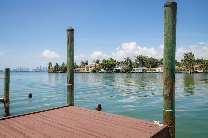 3Br 7 Beds Waterfront Villa - Miami Beach - House