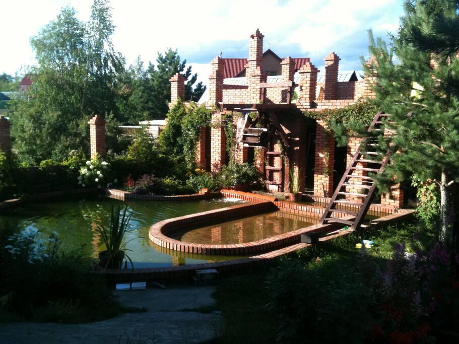 Летний бассейн - рай для деток
