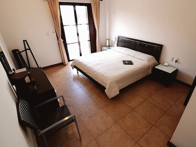 Bedrooom in a Villa with a pool - Cancún - Villa