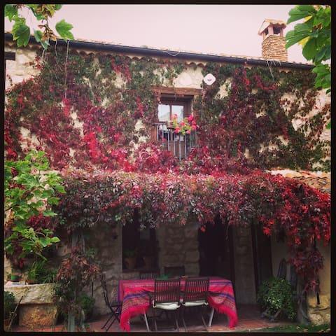 Casa rústica con encanto.