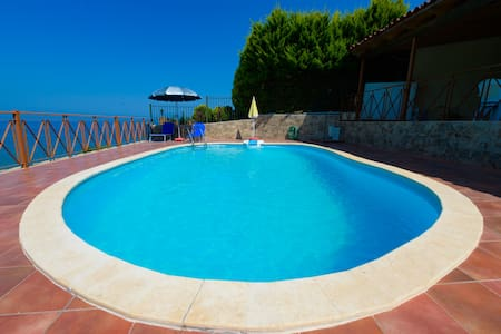Amazing view villa with swimming pool (Afrodite)
