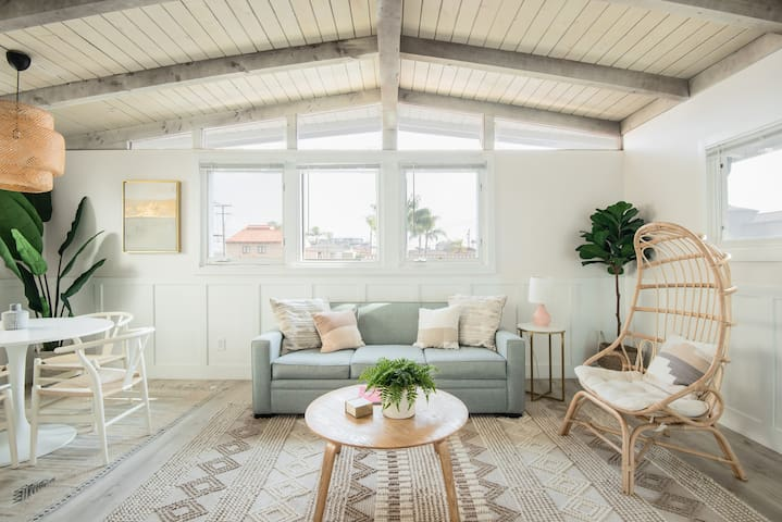 New! Remodeled Beach Getaway in Belmont Shore