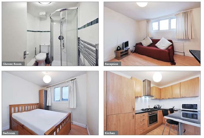 Bright flat in great location - London - Lägenhet
