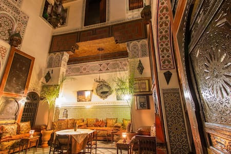Private room de luxe at Riad Meski Guesthouse b&b - 菲斯 - 住宿加早餐