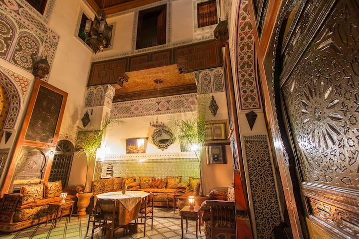 Riad Meski, Typical Cozy Guest House, Private room