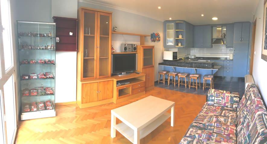 Apartamento acogedor en el centro - Viveiro - Huoneisto