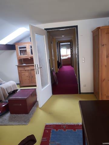Helle Wohnung mit Aussicht Hersbrucker Schweiz