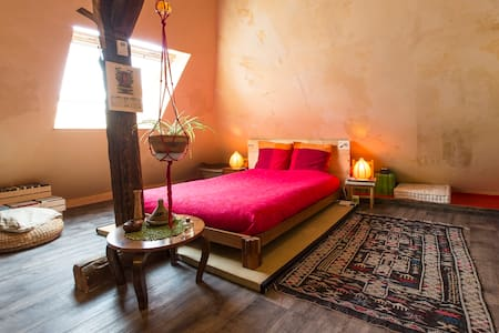 chambre double B&B table d'hôtes - Saint-Pierre-d'Albigny - Bed & Breakfast