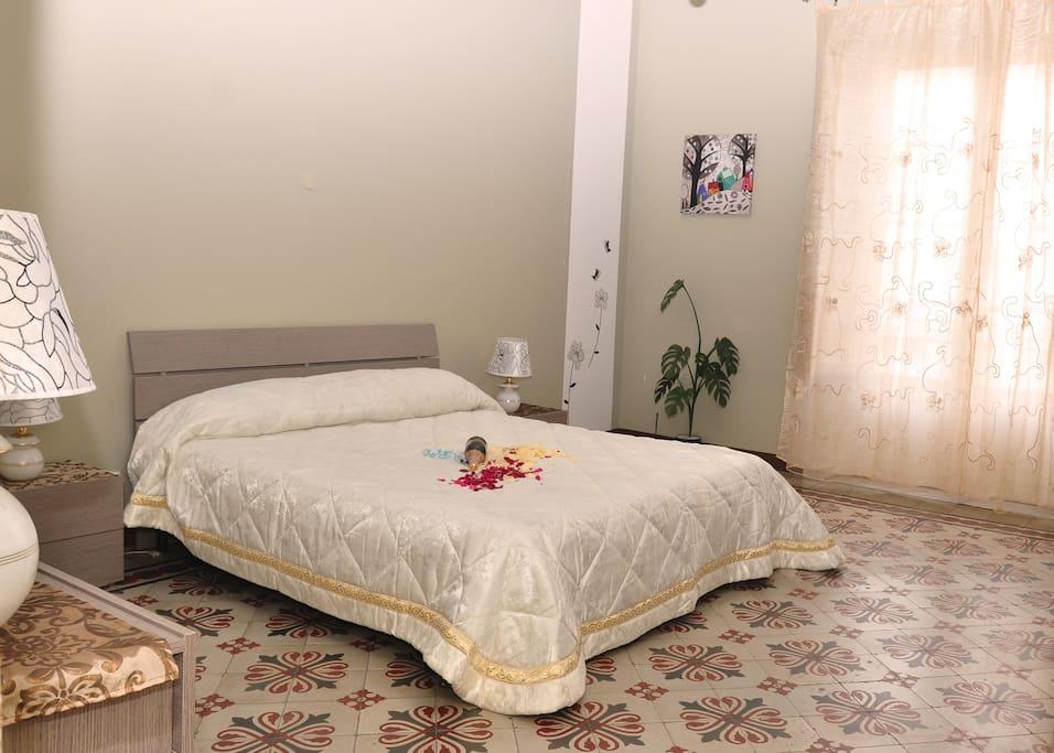 Camera da letto con bagno in camera