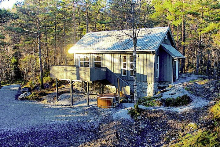 8 person holiday home in Stord
