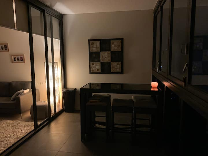 Executive apartment in peaceful location