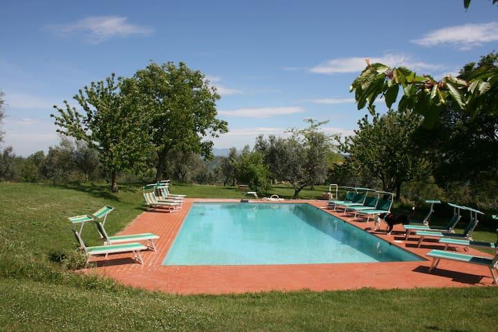 CASA GHIGO - Monte San Savino - Lägenhet