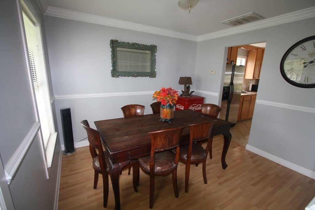 dining room for get togethers