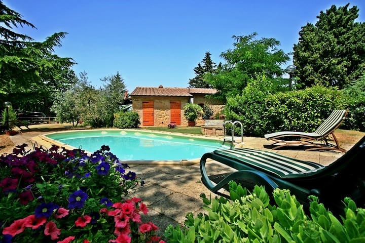 Romantico cottage in Toscana piscina privata  - Pomarance - Casa