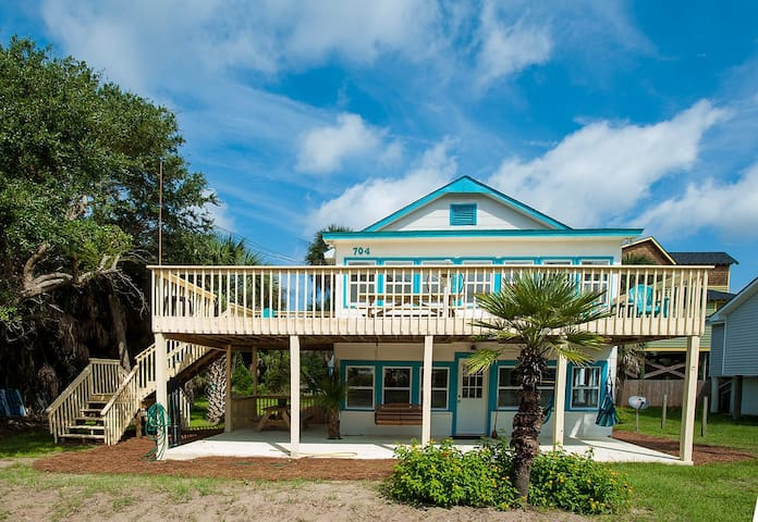 Boogie down second row, Full lower Unit - Folly Beach - Appartement