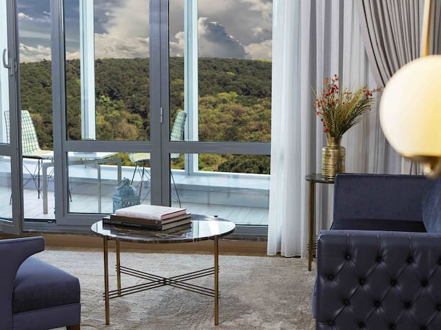 LUXURY STUDIO FLAT WITH FOREST VIEW  AND BALCONY