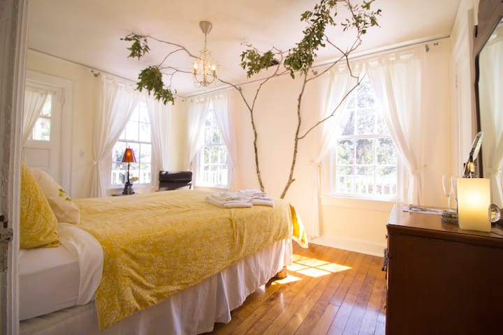 Historic Island Home -  Pecan Room - Savannah - Huis