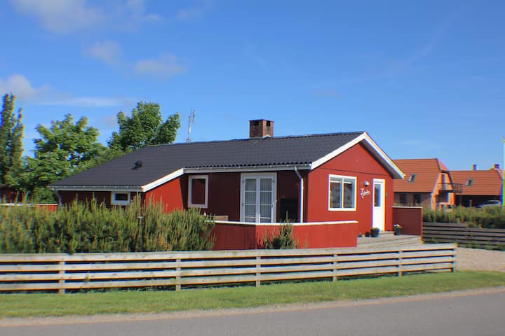 The Little Red Cabin Near Blåvand!