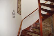 De tweede trap naar boven