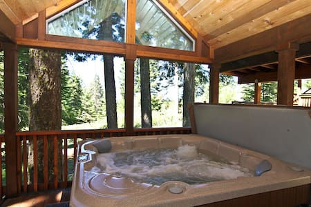 #47 The Cabins at Hyatt Lake - Sleeps 5 - Hot Tub
