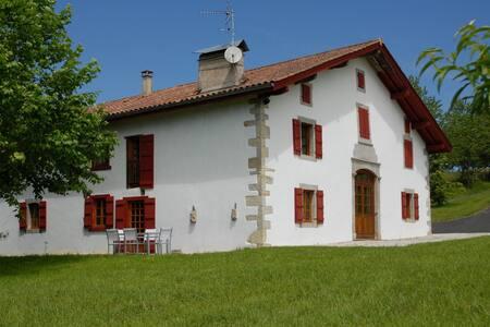 Maison typique du Pays Basque confort moderne