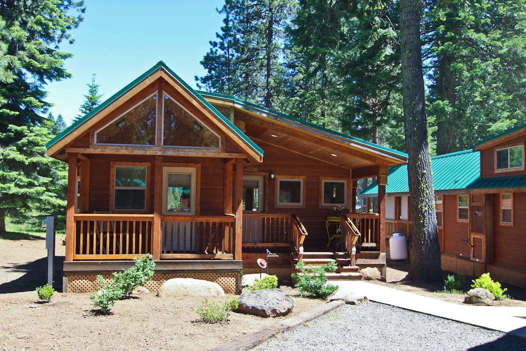 33 the cabins at hyatt lake sleeps 6 hot tub cabins for Hyatt lake cabins