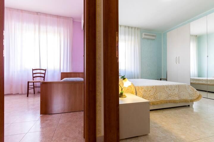 Trilocale con veranda - Carbonia - Квартира