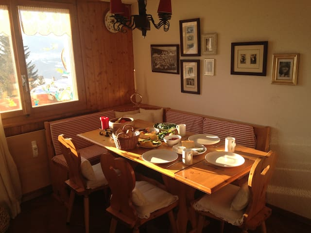 Penthouse apartment in Ski Resort - Ayent - Byt