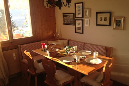 Penthouse apartment in Ski Resort - Ayent - Appartement