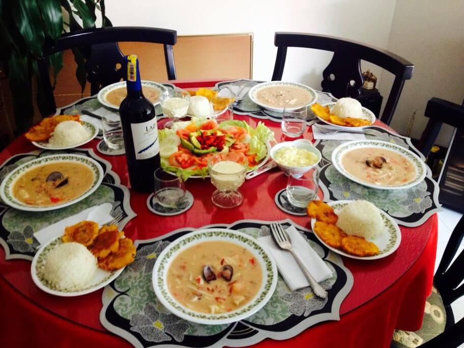 Comedor adecuado para una ocasión especial