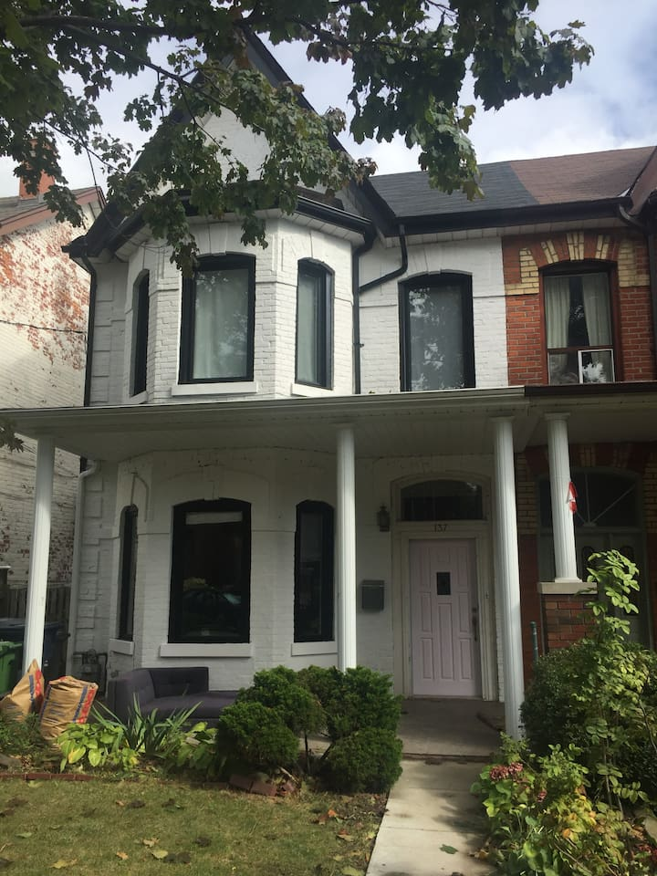 Our Victorian home near Queen Street West!