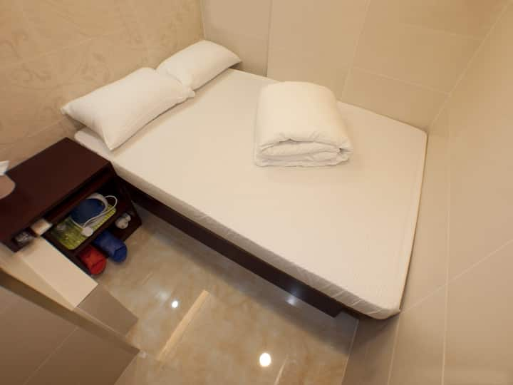 旺角區經濟大床房Budget Double Room for 1 -2@Mong Kok