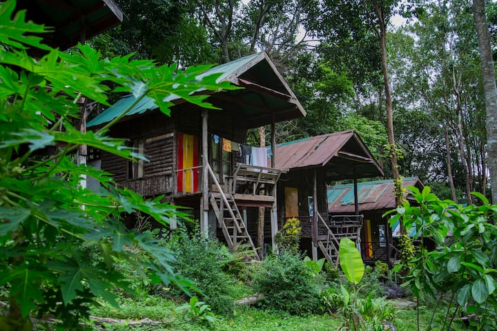 Chill Out Bungalow twin bed, Tonsai beach - Banglo