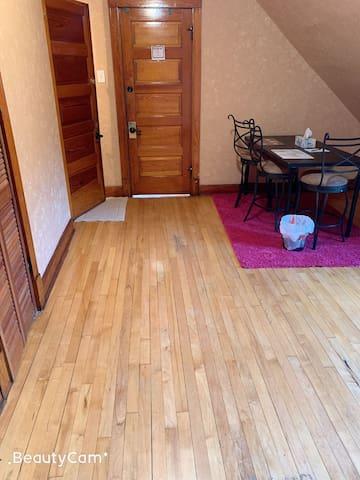 SR2 Private room cta McCormick Foam mattress bed