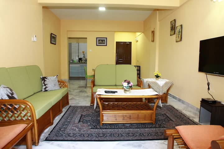 Comfortable place to stay with high speed Wi-Fi.